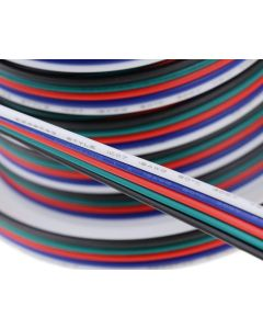 100 meters 18 AWG RGBW 5-pin wire