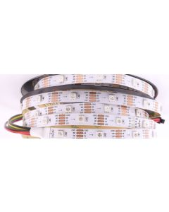 12V 5 meters 150 LEDs IP20 non-waterproof programmable CS8812 RGB 5050 LED strip