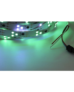 12V 5 meters 150 LEDs IP20 non-waterproof white FPCB digital programmable WS2811 RGB 5050 light strip