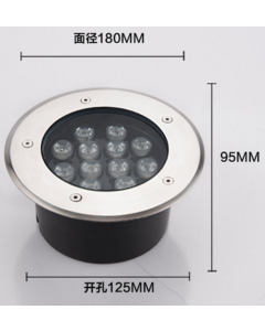 12x1W high power LED