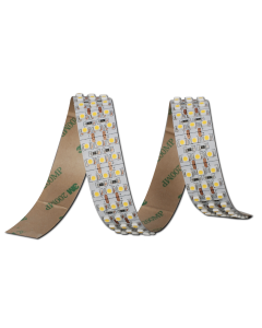 24V 5 meters 1800 LEDs triple row flexible SMD 3528 LED warm white light strip