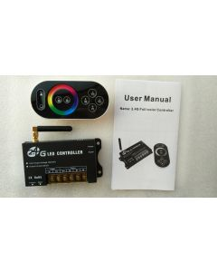 2.4GHz RF touch control remote full color RGB LED controller