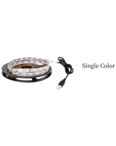 5 meters 400 LEDs USB power single color IP20 non-waterproof SMD 2835 LED white light strip