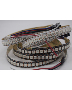 GS8208 DC12V one meter 144LEDs breakpoint-continue addressable RGB LED strip