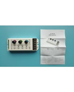 LT-330-8A LTech rotary knobs RGB LED controller