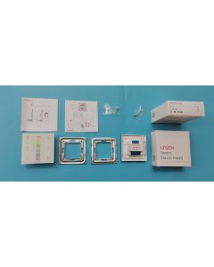 LTech E4 power touch panel 4 channels RGBW LED controller