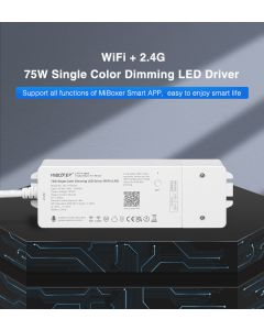 MiBoxer WL1-P75V24 single color 1 channel WiFi Bluetooth dimming LED driver