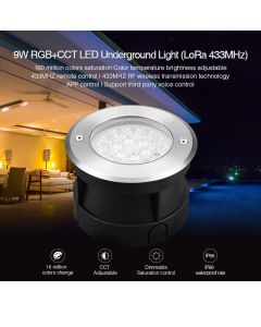 MiBoxer RD-9L MiLight 9W ip68 RGB+CCT LED underground light