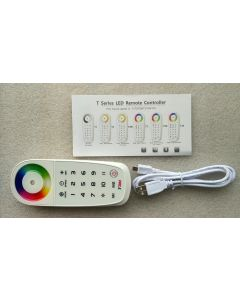 T3M RF wireless 2.4G synchronization RGB LED touch control remote